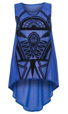 Primark Limited Edition Flocked Vest, £12 #fashion #style