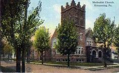 1907-1915 church where my parents married, Kittanning, Pa