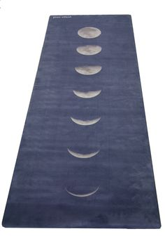 Blue Lunar Mat Hot Yoga Mat. High quality, non-slip, combo mat/towel designed to grip the more you sweat on your mat! Two Products in One (Mat/Towel). Great for bikram, hot yoga, pilates and people wh
