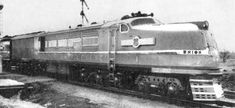 Union Pacific Turbine Locomotive built by General Electric in 1938.