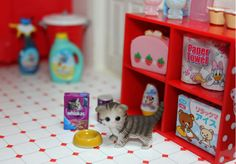 RE MENT kitty and household items
