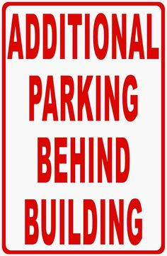 """TRANS AM Parking Only Street Sign Heavy Duty Aluminum Sign 9/"""" x 12/"""""""