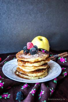 Love Rosemary: Яблочные панкейки