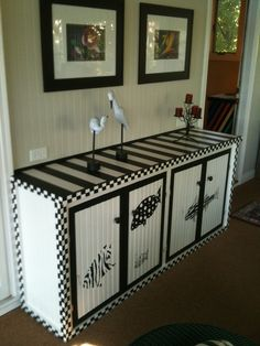 Hand Painted Furniture by ArtsyFartsy2011 on Etsy, $250.00