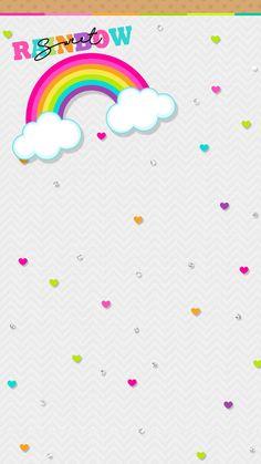 Rainbow Summer Wallpaper, Wallpaper Size, Heart Wallpaper, Computer Wallpaper, Mobile Wallpaper, App Background, Rainbow Background, Iphone Wallpapers, Cute Wallpapers