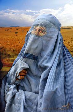 Gioconda islamica / visual metaphors