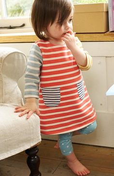 Mini Boden 'Cosy' Sweatshirt Dress (Baby Girls) | Nordstrom