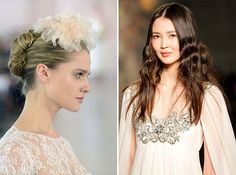 11 Hair + Makeup Trends to Steal from Spring 2016 Bridal Fashion Week via Brit + Co