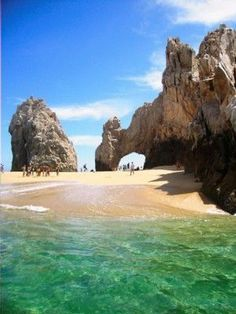 The Arch, also known as Lover's Beach. Los Cabos, Mexico.
