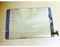 iPad 5 Front Panel Part Leaks