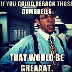 One thing that always bugs me at the gym