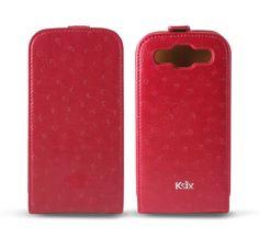 Ostrich Type Ksix para Galaxy SIII fucsia #GalaxySIII #MobileCase #Ostrich