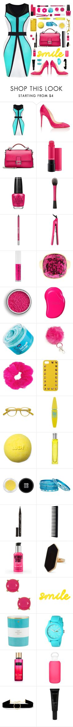 """""""Self Explanatory"""" by cocochaneljr ❤ liked on Polyvore featuring Christian Louboutin, Fendi, OPI, Urban Decay, Royale, Obsessive Compulsive Cosmetics, Liz Claiborne, Tangle Teezer, Bliss and Valentino"""