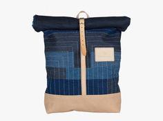 Atelier de l'Armée and Facing West Sashiko Stitched Bag
