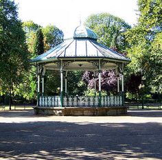 Matlock park bandstand- we'll do our wedding dance here when we get home.