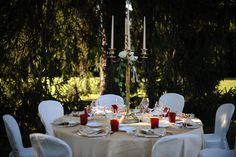 allestimento in giardino toscano www.lecerimonie.it