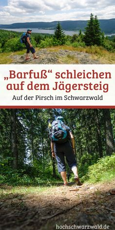Am Schluchsee im Schwarzwald kann man die schweren Wanderschuhe zuhause lassen. Barfuß laufen ist hier angesagt, damit die Tiere einen auf der Pirsch nicht ertappen.