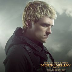 Tim Palen's Mockingjay Part 2 portraits, Peeta Mellark