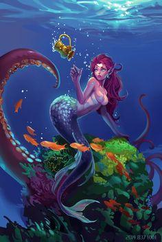 Mermaid2014 by HXH17.deviantart: