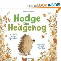 Hodge the Hedgehog: Amy Sparkes, Benji Davies: 9781600105616: Amazon.com: Books