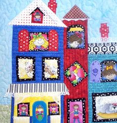The Merry Manor Quilted Wall Hanging by uniquelynancy on Etsy, $100.00