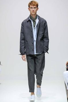 Margaret Howell | Spring 2015 Menswear Collection | Style.com London, jacket