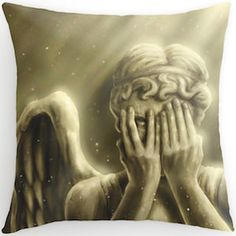 Weeping Angel Pillow