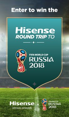 Win a Round Trip to 2018 FIFA World Cup Russia