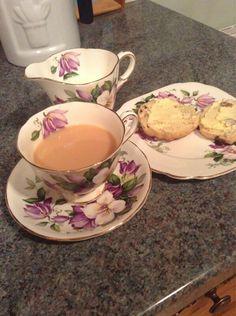 Downton Abbey:  tea and scones