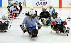 Sled Hockey Makes Winter an 'Ice' Time for Adaptive Sports - http://blog.amsvans.com/sled-hockey-makes-winter-an-ice-time-for-adaptive-sports/