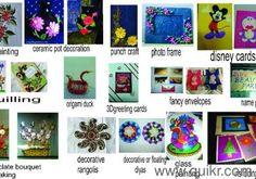 Aryas Hobby Classes-Art & Craft,Quilling,Fabric/Glass painting,Drawing &many more - Mumbai