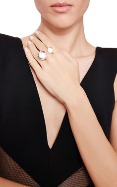 One of a Kind Balls Ring by Efva Attling for Preorder on Moda Operandi