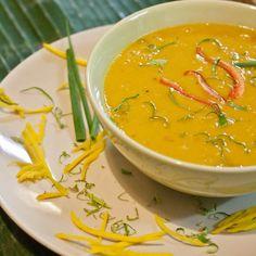 Thai Pumpkin Soup {Gluten-Free, Vegan}