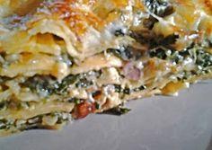 Λαζάνια με σπανάκι συνταγή από femcook - Cookpad Cookbook Recipes, Cooking Recipes, Spanakopita, Greek Recipes, Lasagna, Food Inspiration, Food To Make, Spaghetti, Brunch