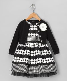 {Black  White Polka Dot Dress  Bolero} You know me and polka dots. :-)