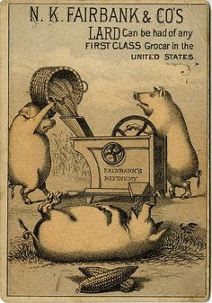 N. K. Fairbank & Co's lard can be had of any first class grocer in the United States
