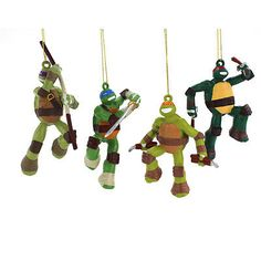 Tmnt #ninja turtles kurt #adler ornament set #tm1131,  View more on the LINK: http://www.zeppy.io/product/gb/2/380968230314/