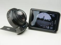 カシオ計算機のアウトドア向けデジタルカメラ「EX-FR200」は、カメラ部とディスプレイ部が分離し、防水防塵で新しい撮影スタイルを提案するFRシリーズの最新モデルだ。旧モデルの「EX-FR100」は、カメラ部が分離することでフリースタイルでの撮影ができ、各種アタッチメントを利用することで、さまざまな場所に装着して撮影できる点が斬新な製品だった。