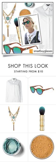 """Smartbuyglasses Contest"" by ewa-naukowicz-wojcik ❤ liked on Polyvore featuring Alexander Wang, Lucky Brand, Benefit, Jane Iredale, sunglasses and smartbuyglasses"