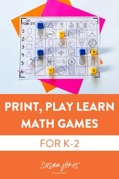 Biggest wins! I don't know about your k-2 students, but mine LOVE to play games & how could you blame them?! These games are the perfect way to have your students practice skills they've already learned to help their fluency. This is also a great time for you, as the teacher, to walk around and check in with students and offer help as needed. #firstgrademath #mathactivities #printplaymath #firstgrade