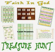 Activity Day Ideas: Activity Days - Faith In God Treasure Hunt