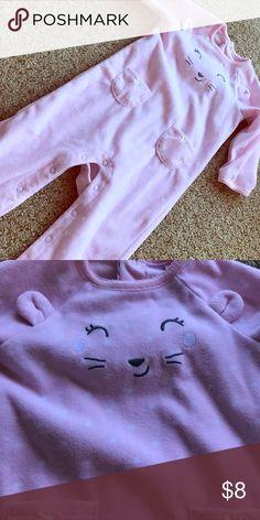 BNWOT fleece Bear onesie Super cute and super soft! Carter's One Pieces Bodysuits
