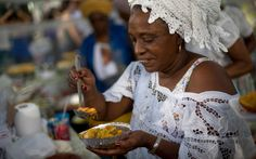 aljazeeraamerica:  How Brazil's traditional food vendors took on FIFA and won  Rita Maria Ventura dos Santos does not look like a warrior. The ebullient 57-year-old moved from her native Rio de Janeiro to Salvador in 1986 and began selling acarajé on the city's beaches. In time she became the coordinator of the Association of Bahian Acarajé Sellers. In November 2012 she learned that FIFA had excluded the traditional street sellers from the process to choose food vendors for the World Cup…