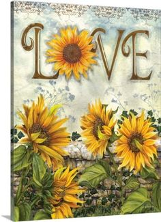 Ed Wargo Premium Thick-Wrap Canvas Wall Art Print entitled Love, None