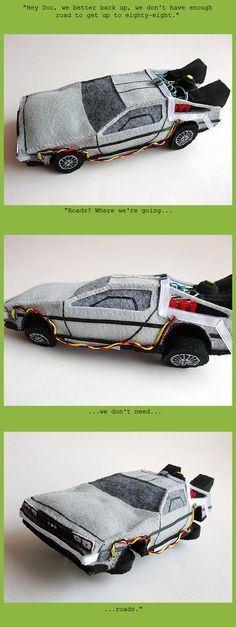 Because who doesn't need a time traveling DeLorean plushie??