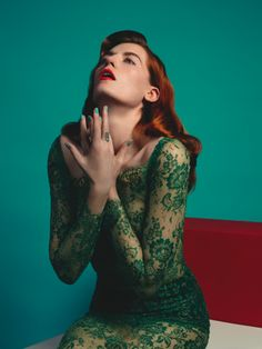 Photo of COVER & EDITORIAL Clash Magazine #68 Feat. Florence Welch by Matthew Stone  for fans of Florence + The Machine.