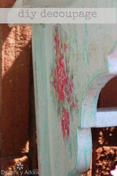 decora y adora: Diy paso a paso decoupage