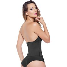 e2bacb86a Train your waist with our Black Workout Cincher! This 2 hook waist trainer  helps you. BodyCinchers