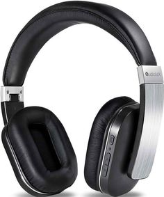 Wireless Headphones with Mic, AudioMX Over-Ear Stereo Bluetooth Headphones with AptX Low Latency, Noise Isolation (Alloy Sliver) for sale Best In Ear Headphones, Wireless Headphones For Running, Headphone With Mic, Wireless Headset, Bluetooth Headphones, Buy Earphones, Best Noise Cancelling Headphones, Audio, Cable