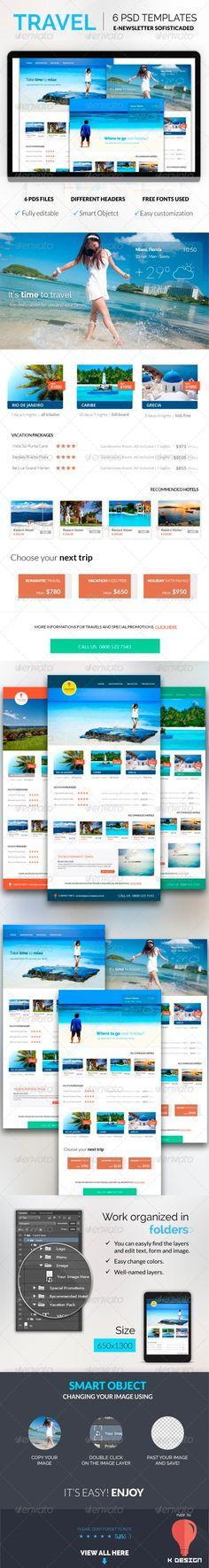 Multipurpose E-newsletter Template Template - email newsletter template